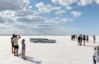 Speed Week, Lake Gairdner South Australia