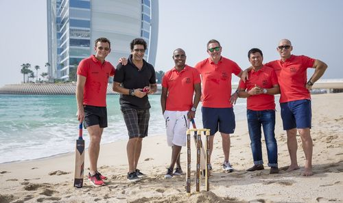 Cricket icons return to action in Masters Champions League (PRNewsFoto/Grand Midwest Sports)
