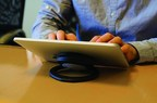 SpinPadGrip is the detachable and portable solution to convenient tablet usage. (PRNewsFoto/PowerSkin)
