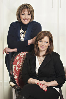 Gail Doby (standing) and Erin Weir (sitting) (PRNewsFoto/Design Success University)