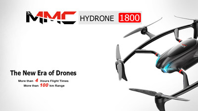 The HyDrone 1800, MMC's latest product, officially launched on April 10th at Kempinski Hotel, Shenzhen, China