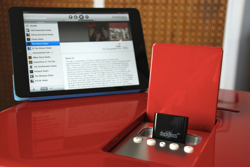 The Dock Lives On - CableJive Announces dockBoss air, Wireless Audio Receiver for iPod and iPhone