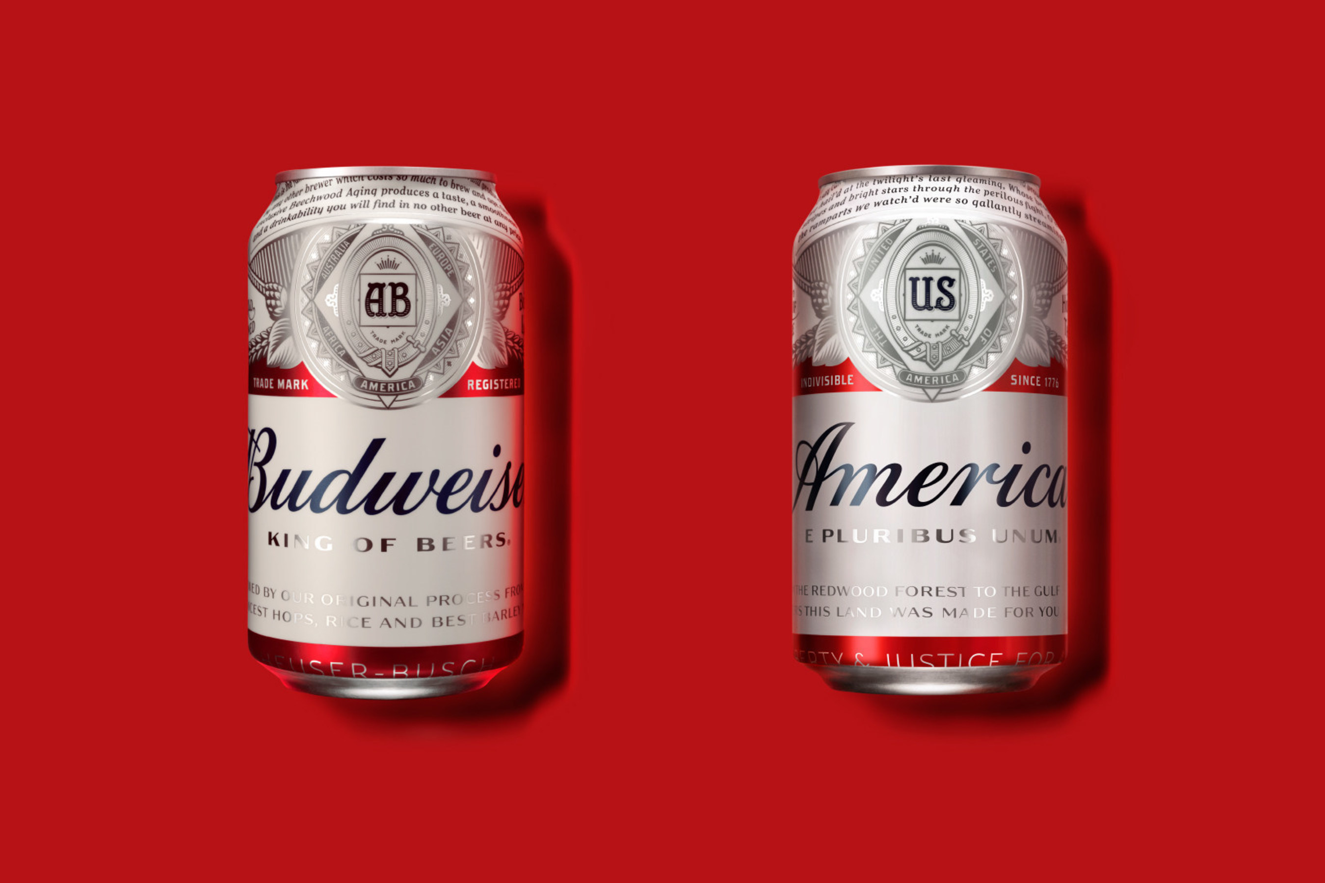 Budweiser Emblazons America on Cans and Bottles to kick off its Most Patriotic Summer Ever