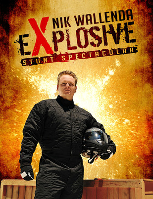 Nik Wallenda Explosive Stunt Spectacular This Saturday, May 14. Free with Park Admission!