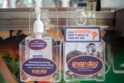 Snap Dog Hand Sanitizer Station