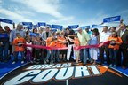 Cutting the ribbon on the first DreamCourt in Oklahoma City