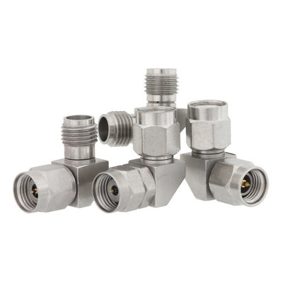 High Frequency Right Angle RF Adapters from Fairview Microwave (PRNewsFoto/Fairview Microwave)