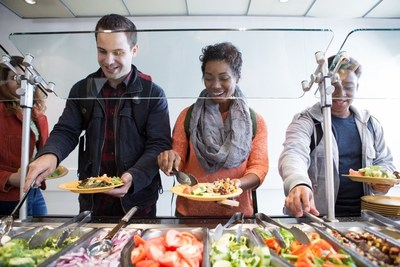 Through Healthy for Life(R) 20 By 20, Aramark will achieve a 20 percent reduction in calories, saturated fat and sodium, as well as a 20 percent increase in fruits, vegetables and whole grains, impacting 10 billion meals by 2020.