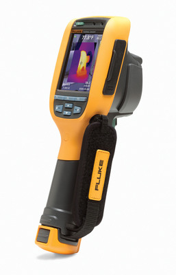 The Fluke(R) Ti105 and TiR105 Thermal Imagers are the latest addition to Fluke's series of lightweight, rugged, and easy to use imagers. The Ti105 and TiR105 offer the popular Fluke IR-Fusion(R) technology feature, not normally found in thermal imagers in this price class.  (PRNewsFoto/Fluke Corporation)