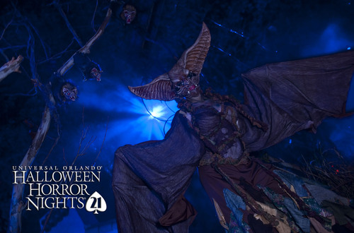 Screams will fill the darkness tonight as Universal Orlando's Halloween Horror Nights 21 officially opens ...