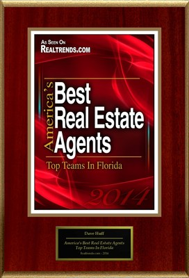"Dave Huff Selected For ""America's Best Real Estate Agents: Top Teams In Florida"" (PRNewsFoto/American Registry)"