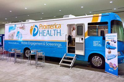 Employers interested in an on-site demonstration of the Promerica Health Mobile Health Unit or more information about health screening offerings should contact Keri Seitz, Vice President Compliance & Communications, at 207-828-4700 or seitzk@promericahealth.com.