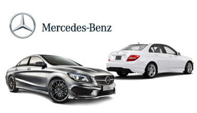 Compare the Mercedes-Benz C-Class vs Mercedes-Benz CLA today.  (PRNewsFoto/Loeber Motors)