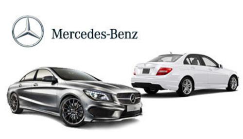 Compare the Mercedes-Benz C-Class vs Mercedes-Benz CLA today.  (PRNewsFoto/Loeber Motors)
