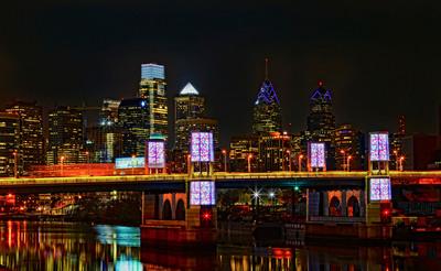 Philadelphia Skyline.  (PRNewsFoto/Greater Philadelphia Tourism Marketing Corporation)