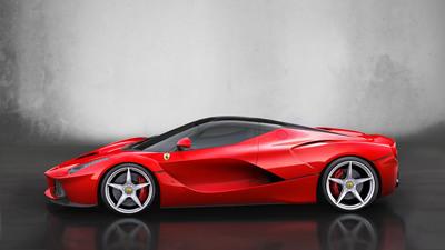 LaFerrari - side. (PRNewsFoto/Ferrari) (PRNewsFoto/FERRARI)