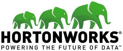Hortonworks logo.