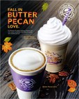 The Coffee Bean & Tea Leaf's New Butter Pecan Latte and Butter Pecan Ice Blended Drinks. (PRNewsFoto/The Coffee Bean & Tea Leaf)