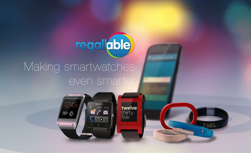 The reqallable smartwatch app. Never miss important messages and act on emails and texts, straight from your watch. (PRNewsFoto/reQall) (PRNewsFoto/REQALL)