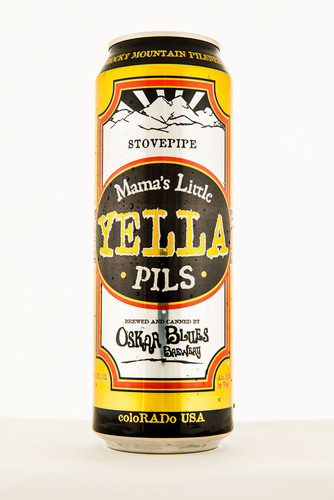 Oskar Blues has teamed up with can maker Ball Corporation to offer its popular Mama's Little Yella Pils in ...