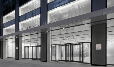 Neuberger Berman Future NYC HQ at Vornado's 1290 Avenue of the Americas (PRNewsFoto/Neuberger Berman)