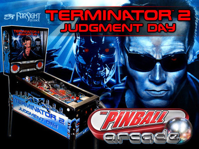 Pinball Arcade launches Kickstarter campaign to digitally recreate the terminator 2 pinball table.