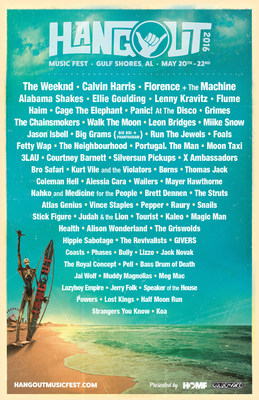 Hangout Music Festival 2016 Line Up