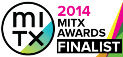 MITX Awards Finalist Badge for Curata (PRNewsFoto/Curata, Inc. )