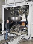 Photo courtesy of Lockheed Martin. Sciaky EBAM System with IRISS CLC.