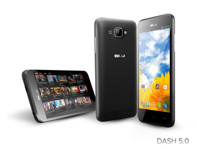 DASH 5.0  (PRNewsFoto/BLU Products)