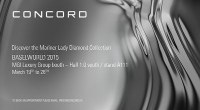 CONCORD Media Invitation – Baselworld 2015
