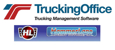 TruckingOffice, a leader in online trucking management software, announced the acquisition of HammerLane Software, a pioneer in trucking management software.  (PRNewsFoto/TruckingOffice, LLC)