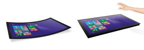 FlatFrog presents latest touch innovations integrating gestures and support for curved screens @ Computex and ...