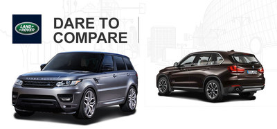 The 2014 Range Rover Sport has more power and off-road capability than what is offered by the 2014 BMW X5. (PRNewsFoto/Land Rover of San Antonio)