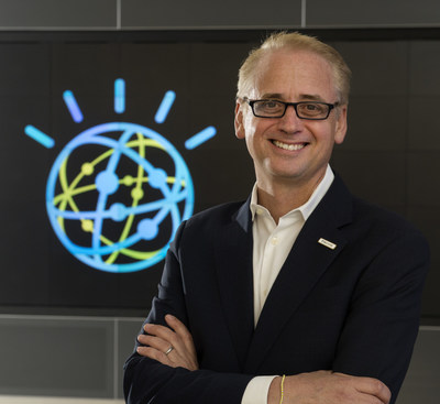 Today IBM announced it has closed the acquisition of The Weather Company's Product and Technology Businesses. The Weather Company CEO David Kenny assumes leadership of the IBM Watson platform business. (Photo Credit: Jon Simon/Feature Photo Service for IBM)