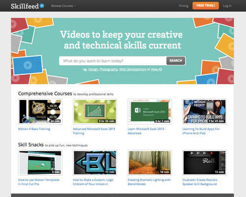 Shutterstock reinvents online learning with Skillfeed: A marketplace for video tutorials..  ...