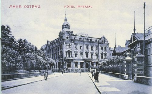 Hotel Imperial Ostrava celebrates 110 years in business. (PRNewsFoto/Mamaison Hotels & Residences)