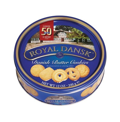 Denmark's Finest Cookies, Royal Dansk, Celebrate 50 Years of Enjoyment