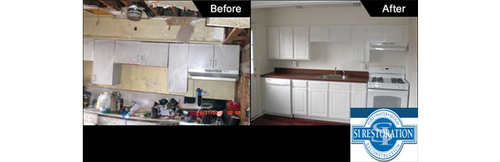 Fire Damage Restoration (PRNewsFoto/SI Restoration)