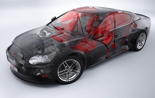 IIHS Top Safety Pick+ Winners Feature TRW Safety Technology