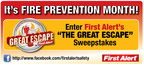 First Alert Launches 'The Great Escape' Sweepstakes on Facebook