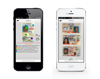 TIPS Mobile ID Guide App.  (PRNewsFoto/Health Communications, Inc.)