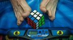 Speedcuber-Showdown bei der Rubik's Cube-Weltmeisterschaft 2013 in Las Vegas