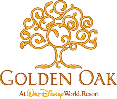 Golden Oak at Walt Disney World Resort logo.  (PRNewsFoto/Walt Disney World Resort, Shane Webb)