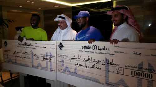 Dashishah Award for Excellence and Creativity Honours Saudi Sporting Champions (PRNewsFoto/DG investment group Suisse)