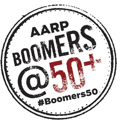 AARP Boomers @50+ logo