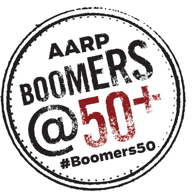AARP Boomers @50+ logo. (PRNewsFoto/AARP) (PRNewsFoto/AARP)