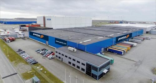 Pantos Logistics Opens a 20,000m2 Logistics Center in Rotterdam, The Netherlands. (PRNewsFoto/Pantos Logistics)