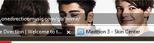 Maxthon Launches Custom 'One Direction' Browser for Fans: Frame Your Window to the Web with 1D
