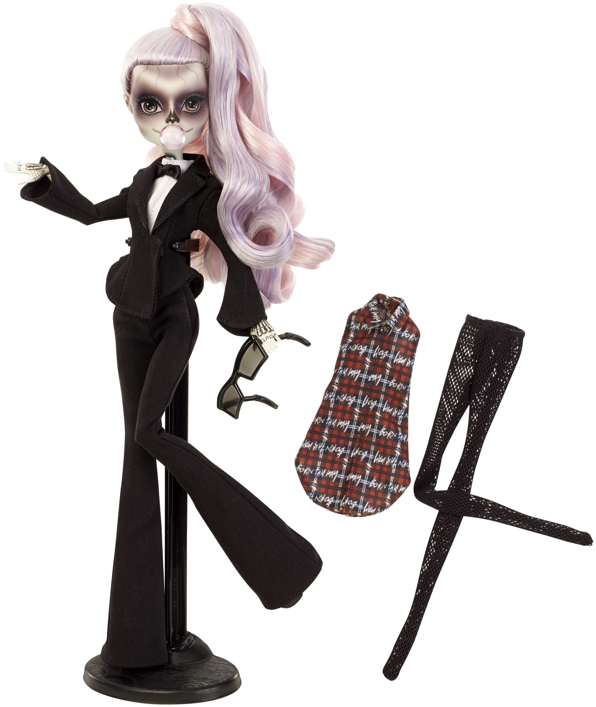 Today, Monster High and Born This Way Foundation revealed Zomby Gaga, a doll inspired by Lady Gaga to champion kindness, instill bravery, and build a world where young people celebrate their differences.